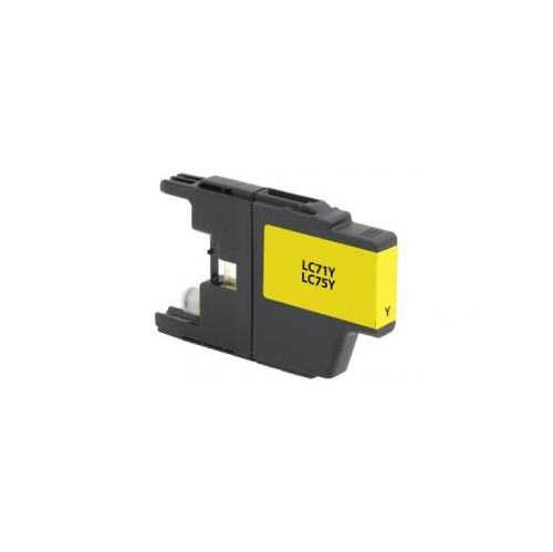 Remanufactured High Yield Yellow Ink Cartridge for Brother LC71/LC75 (DPCLC75YCA)