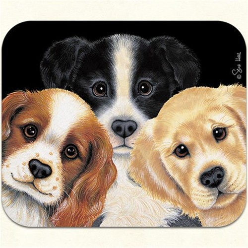 Fiddlers Elbow m37 Peeping Puppies Mouse Pad Pack Of 2