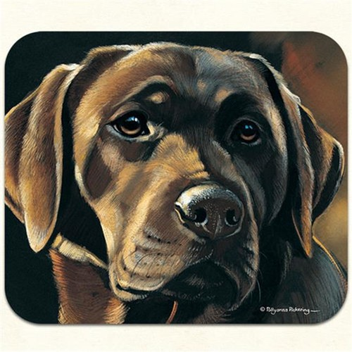 Fiddlers Elbow m408 Chocolate Lab Mouse Pad Pack Of 2