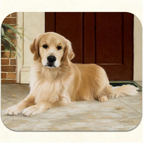Fiddlers Elbow m18 Golden Retriever-Porch Mouse Pad Pack Of 2