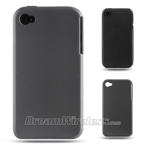 Dreamwireless Skin Case for iPhone 4S; iPhone 4 - Black; Dark Gray