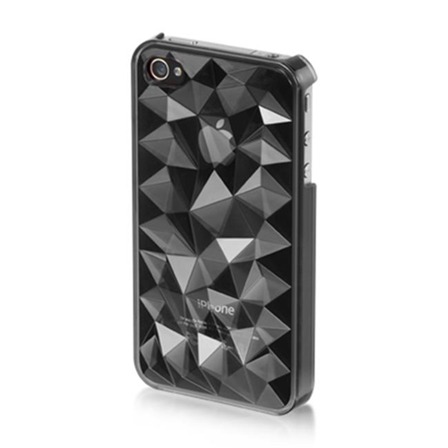 DreamWireless IP-MCIP4VZSM iPhone 4S & iPhone 4 Compatible Mount Crystal Case - Smoke