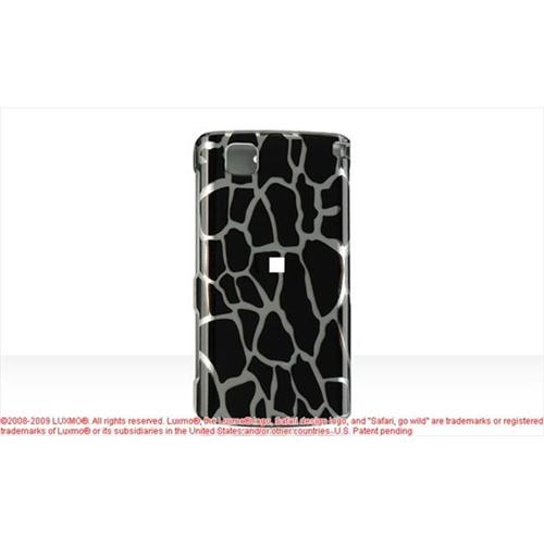 DreamWireless CALGCT810BKGF LG Incite Ct810 Crystal Case Black Giraffe