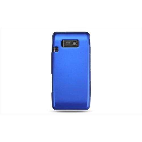 DreamWireless CRLGVS750BL LG VS750 Fathom Rubber Case Blue