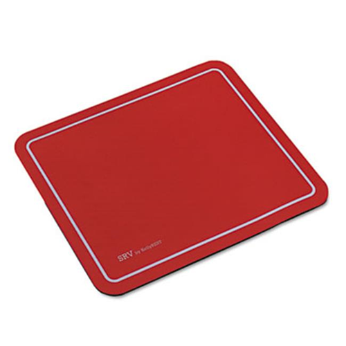 Kelly Computers 81108 SRV Optical Mouse Pad Nonskid Base 9 x 7.75 Red