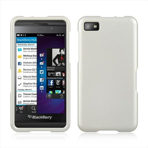 Dreamwireless Fitted Hard Shell Case for Blackberry Z10 - White