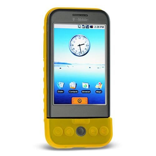 DreamWireless SCHTCG1YL-PR HTC Dream & G1 Premium Skin Case - Yellow