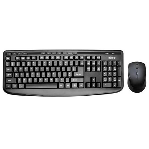Bornd M610 BLACK Wireless Keyboard & Mouse Combo Black