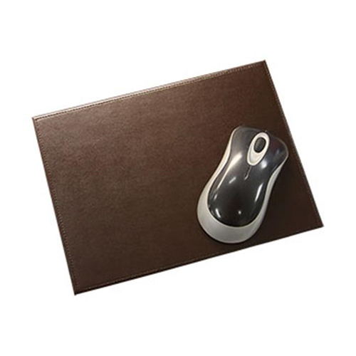 Dacasso Limited A3614 Brown Bonded Leather Mouse Pad