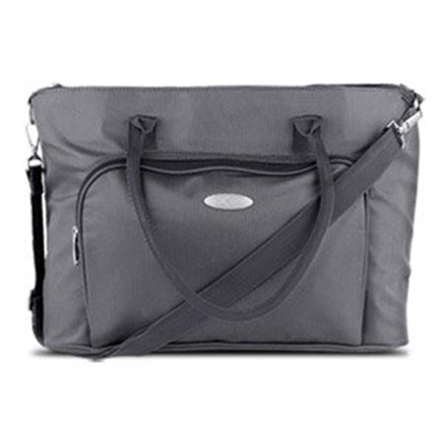 HSU Concepts 321216 Professional Ladies Laptop Tote for 15.4 in. Laptops Gray
