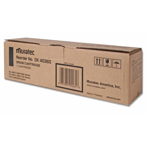 Muratec MURDK40360 Drum Cartridge- for F320-360-MFX 1200-1600- 16000 Page YIeld