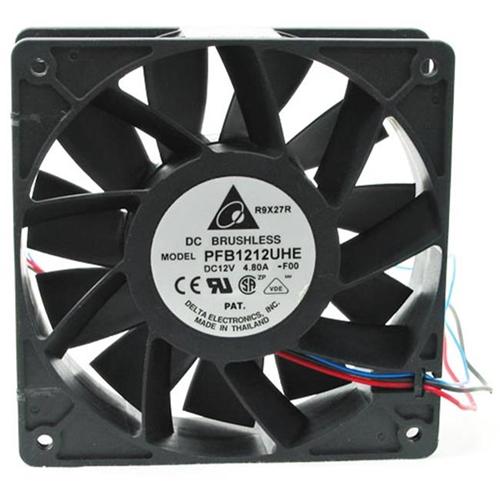 Delta 23-1238-01 120 x 120 x 38Mm High Speed Ball Bearing Fan Molex 4 Plus 3-Pin Connectors