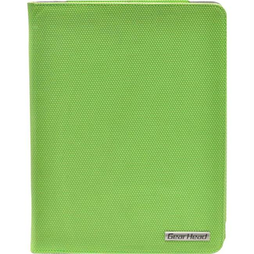 Gear Head Green Slim Portfolio Stand for iPad 2 and The New iPad - FS4200GRN