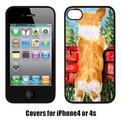 Carolines Treasures SS8870IP4 Corgi Cell Phone Cover Iphone4