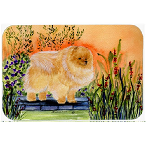 Carolines Treasures SS8161MP Pomeranian Mouse Pad Hot Pad & Trivet