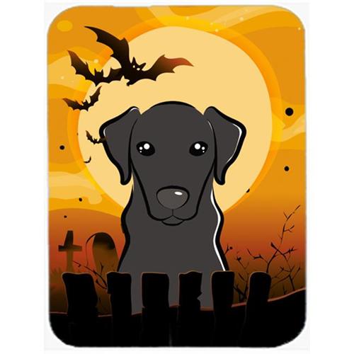 Carolines Treasures BB1793MP Halloween Black Labrador Mouse Pad Hot Pad & Trivet