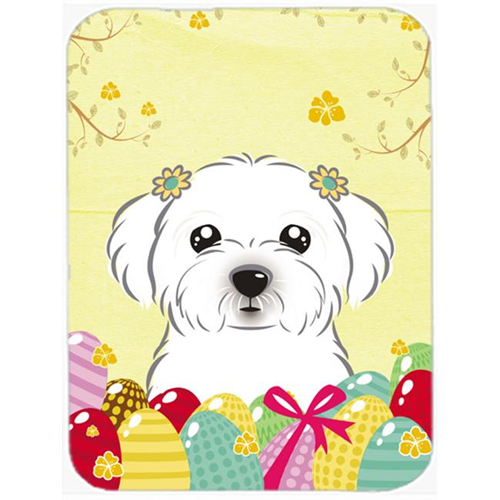Carolines Treasures BB1890MP Maltese Easter Egg Hunt Mouse Pad Hot Pad or Trivet