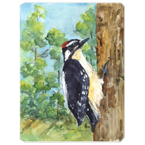 Carolines Treasures KR9020MP 9.5 x 8 in. Bird - Downy Woodpecker Mouse Pad Hot Pad Or Trivet