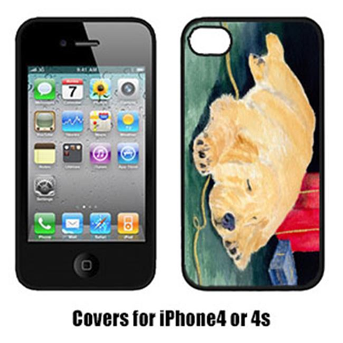 Carolines Treasures SS8576IP4 Golden Retriever Iphone4 Cover