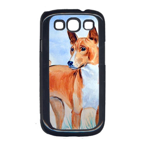 Carolines Treasures 7223GALAXYSIII Red Basenji Cell Phone Cover Galaxy S111