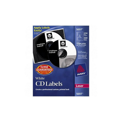 avery dennison cd dvd and jewel case spine laser labels matte 250