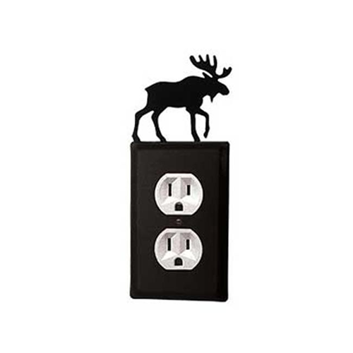 Village Wrought Iron EO-19 Moose Outlet Cover