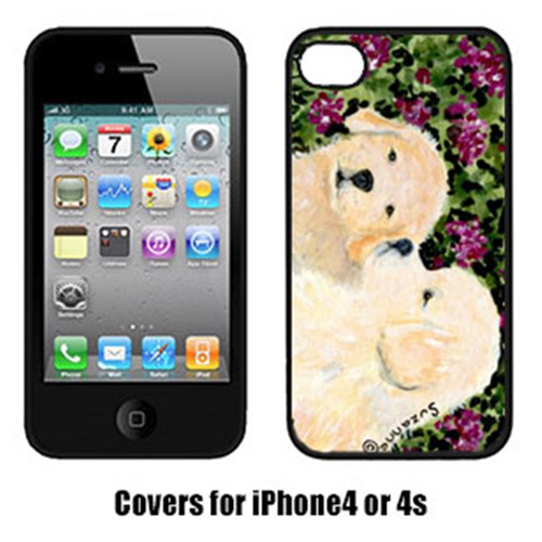 Carolines Treasures SS8826IP4 Golden Retriever Cell Phone Cover Iphone4