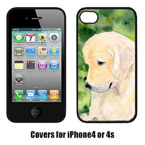 Carolines Treasures SS8757IP4 Golden Retriever Iphone4 Cover