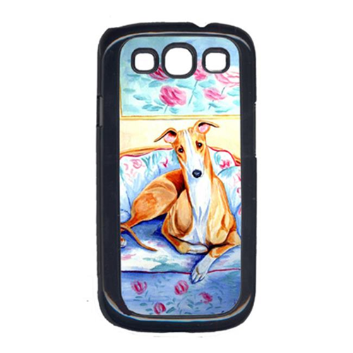 Carolines Treasures 7081GALAXYSIII Whippet Waiting On Mom Galaxy S111 Cell Phone Cover