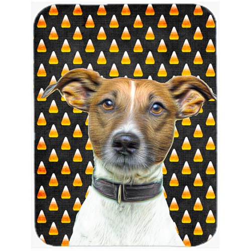 Carolines Treasures KJ1211MP Candy Corn Halloween Jack Russell Terrier Mouse Pad Hot Pad or Trivet