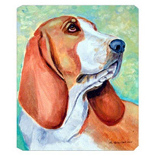 Carolines Treasures 7227MP 8 x 9.5 in. Basset Hound Mouse Pad Hot Pad or Trivet