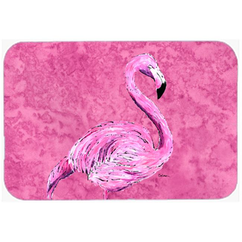 Carolines Treasures 8875MP 9.5 x 8 in. Flamingo on Pink Mouse Pad Hot Pad or Trivet