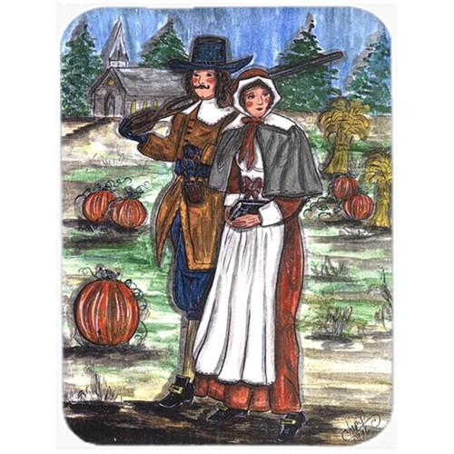 Carolines Treasures CN5032MP 7.75 x 9.25 In. Pilgrims Thanksgiving Mouse Pad Hot Pad or Trivet