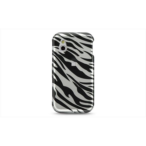 DreamWireless CALGGT950SLZ LG Gt950-Arena Crystal Case Silver With Black Zebra