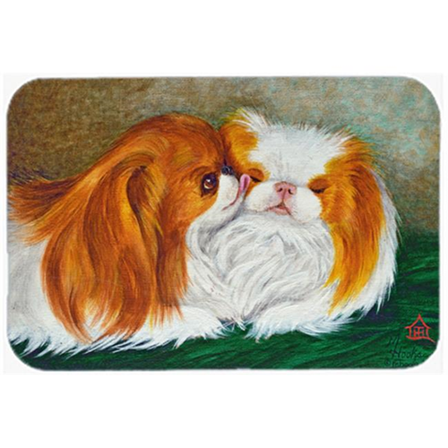 Carolines Treasures MH1045MP Japanese Chin Best Friends Mouse Pad Hot Pad & Trivet