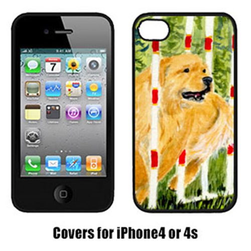 Carolines Treasures SS8906IP4 Golden Retriever Cell Phone Cover Iphone4