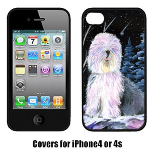 Carolines Treasures SS8409IP4 Starry Night Old English Sheepdog Cell Phone Cover Iphone4