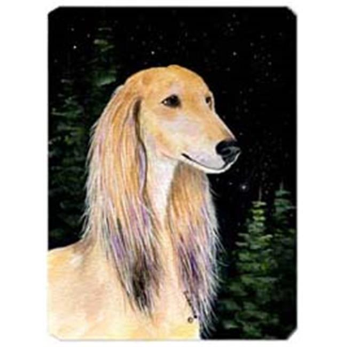 Carolines Treasures SS8485MP Starry Night Saluki Mouse Pad