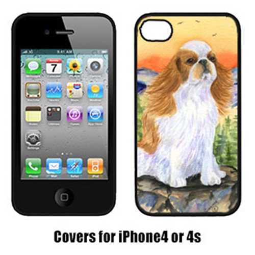 Carolines Treasures SS8311IP4 English Toy Spaniel Cell Phone cover IPhone 4