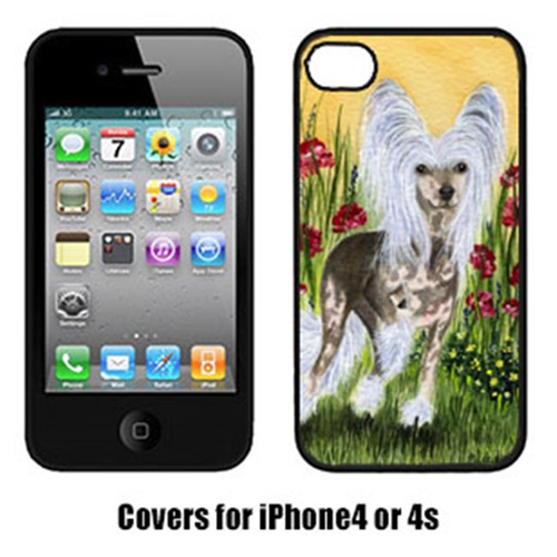 Carolines Treasures SS8185IP4 Chinese Crested Cell Phone cover IPhone 4