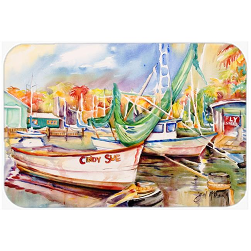 Carolines Treasures JMK1041MP Sailboat Cindy Sue Mouse Pad Hot Pad & Trivet