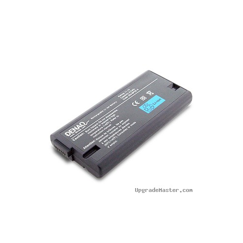 Denaq DQ-BP2E-6 High Capacity Battery for Sony PCG PCG-GR Laptops- 4400mAh