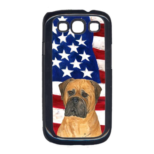 Carolines Treasures SS4001GALAXYS3 USA American Flag with Bullmastiff Cell Phone Cover GALAXY S111
