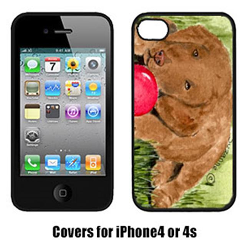 Carolines Treasures SS8684IP4 Curly Coated Retriever Cell Phone Cover Iphone4