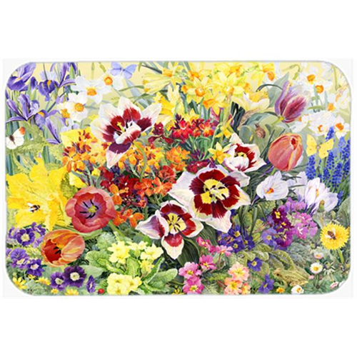 Carolines Treasures SASE0954MP Spring Floral by Anne Searle Mouse Pad Hot Pad or Trivet
