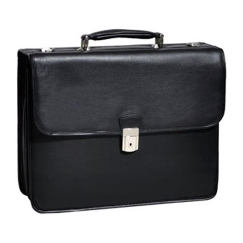 McKlein ASHBURN 15145 Black Leather Leather Laptop Case