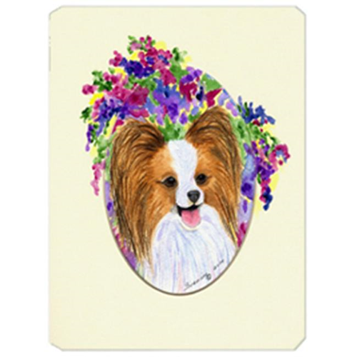 Carolines Treasures SS8074MP Papillon Mouse Pad Hot Pad & Trivet