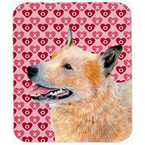 Carolines Treasures LH9137MP Australian Cattle Dog Hearts Love And Valentines Day Mouse Pad Hot Pad Trivet