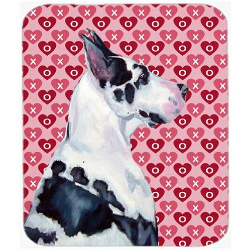 Carolines Treasures LH9146MP Great Dane Hearts Love And Valentines Day Mouse Pad Hot Pad Or Trivet