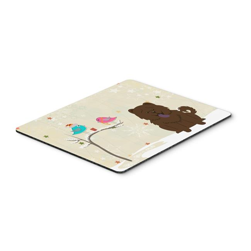 Carolines Treasures BB2613MP Christmas Presents Between Friends Chow Chow Chocolate Mouse Pad Hot Pad or Trivet